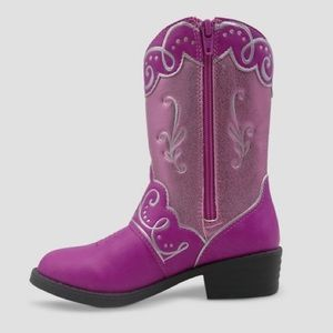 e3565feb03a Pink Disney Princess Toddler Girl Cowboy Boots NWT NWT